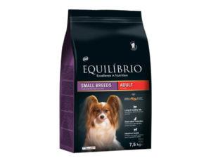 Hrana uscata pentru caini Equilibrio Adulti de talie mica 7,5kg