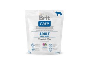 Mancare pentru caini, Brit Care Adult Large Breed Lamb & Rice, 1 kg
