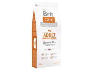 Mancare pentru caini, Brit Care Adult Medium Breed Lamb & Rice, 12 kg