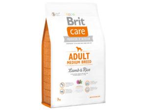 Mancare pentru caini, Brit Care Adult Medium Breed Lamb & Rice, 3 kg