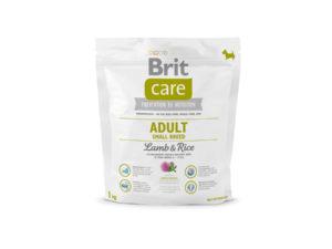 Mancare pentru caini, Brit Care Adult Small Breed Lamb & Rice, 1 kg