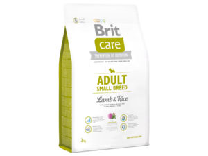 Mancare pentru caini, Brit Care Adult Small Breed Lamb & Rice, 3 kg