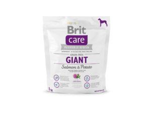 Mancare pentru caini, BRIT Care Grain-Free Giant Salmon & Potato, 1 kg