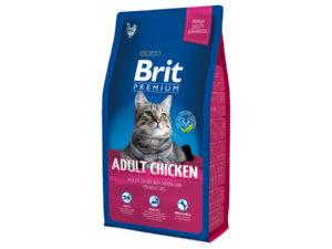 Mancare pentru pisici, Brit Premium Cat Chicken, 8 kg