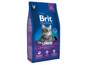 Hrana pentru pisici, Brit Premium Cat Senior, 8 kg