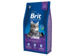 Mancare pentru pisici, Brit Premium Cat Senior, 8 kg