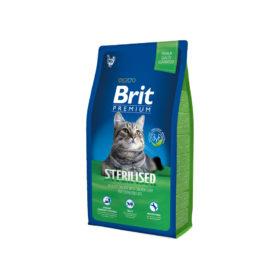 Mancare pentru pisici, Brit Premium Cat Sterilised, 8 kg