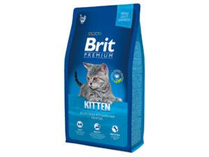 Mancare uscata pentru pisici Brit Premium, Kitten, 8 Kg