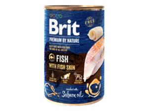 Mancare-umeda-pentru-caini-Brit-Premium-by-Nature-–-Peste-400g