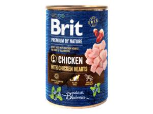 Mancare umeda pentru caini Brit Premium by Nature - Pui 400g