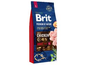 Mancare uscata pentru caini, Brit Premium By Nature, Adult L, 15 Kg
