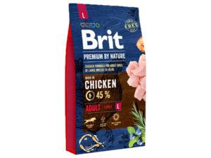 Mancare uscata pentru caini, Brit Premium By Nature, Adult L, 8 Kg