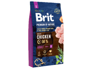 Mancare uscata pentru caini, Brit Premium By Nature, Adult S, 8 Kg