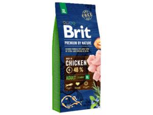 Mancare uscata pentru caini, Brit Premium By Nature, Adult XL, 15 Kg