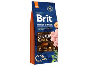 Mancare uscata pentru caini, Brit Premium By Nature, Sport, 15 Kg