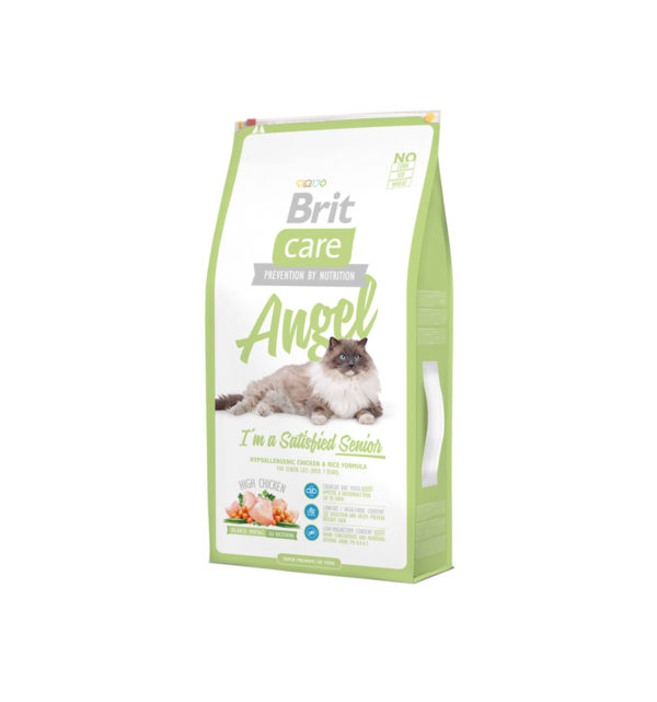 Mancare uscata pentru pisici Brit Care, Angel Delighted Senior, 7 kg
