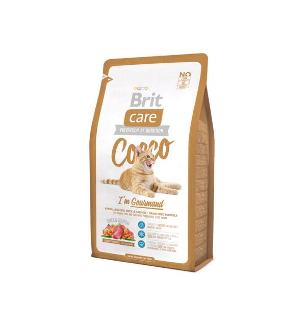 Mancare uscata pentru pisici Brit Care, Cocco Gourmand, 2 kg