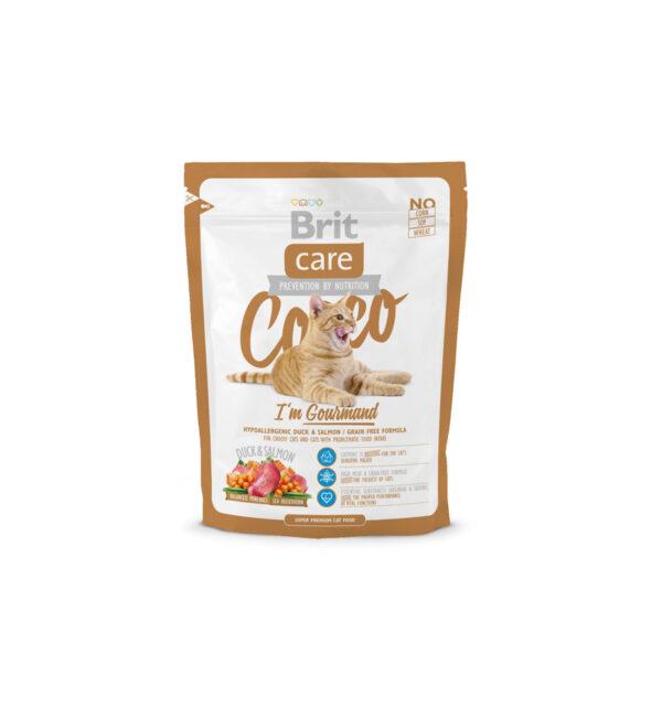 Mancare uscata pentru pisici Brit Care, Cocco Gourmand, 400 g