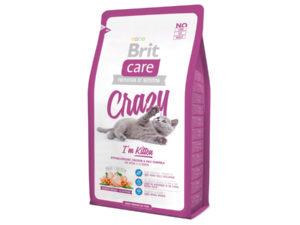 Mancare uscata pentru pisici Brit Care, Crazy Kitten, 2 kg