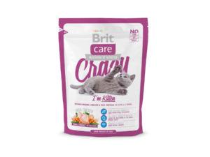 Mancare uscata pentru pisici Brit Care, Crazy Kitten, 400 g
