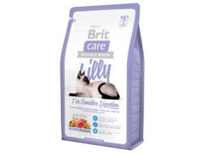 Mancare uscata pentru pisici Brit Care, Lilly Sensitive Digestion, 2 kg