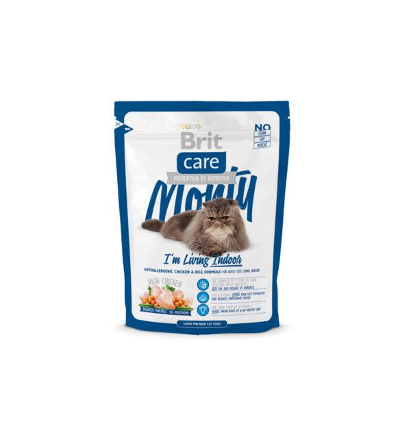 Mancare uscata pentru pisici Brit Care, Monty Living Indoor, 400 g