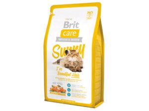 Mancare uscata pentru pisici Brit Care, Sunny Beautiful Hair, 2 kg