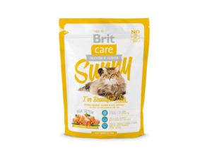 Mancare uscata pentru pisici Brit Care, Sunny Beautiful Hair, 400 g