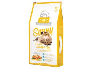 Mancare uscata pentru pisici Brit Care, Sunny Beautiful Hair, 7 kg
