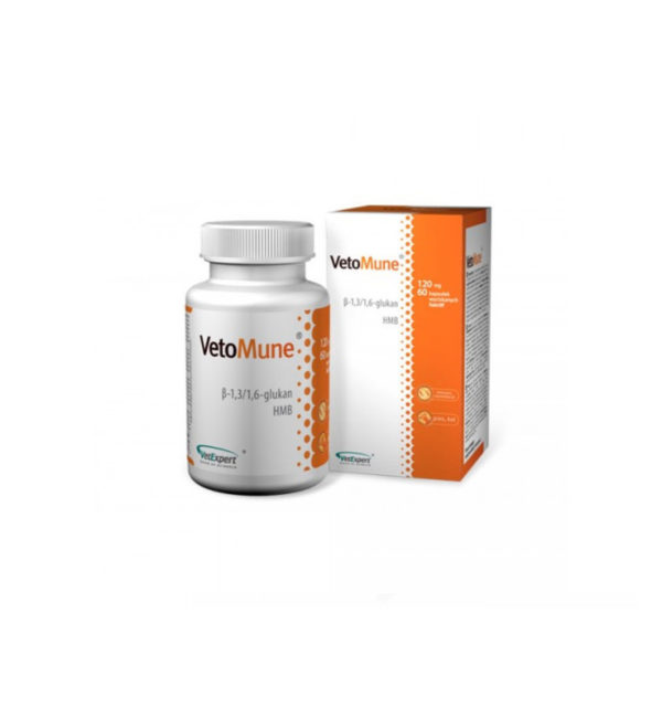 Vetomune Twist-Off 120 mg, 60 Capsule