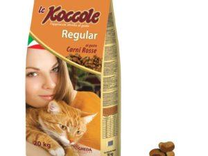 hrana uscata pentru pisici le koccole carne rosie