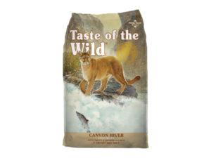 Hrana uscata pentru pisici, Taste of the Wild Canyon River - 2 Kg
