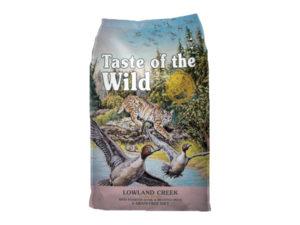 Mancare uscata pentru pisici, Taste of the Wild Lowland Creek Feline - 2 Kg