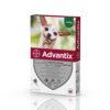 Pipetă antiparazitară Advantix pentru câini până la 4kg