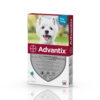 Pipetă antiparazitară Advantix pentru câini de la 4 kg până la 10 kg