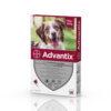 Pipetă antiparazitară Advantix pentru câini de la 10 kg până la 25 kg