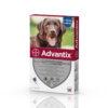 Pipetă antiparazitară Advantix pentru câini de la 25 kg până la 40 kg