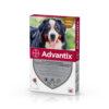 Pipetă antiparazitară Advantix pentru câini de peste 40 kg
